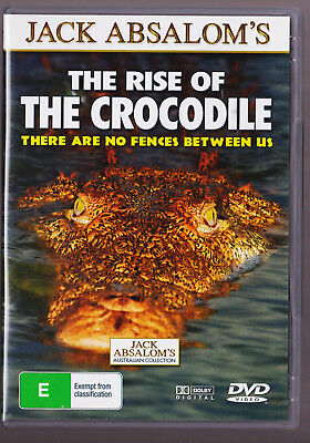 LIKE NEW The Rise Of The Crocodile - Jack Absolom Australia  (DVD, Region 4) for sale  Shipping to Canada