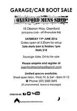 Garage/Car Boot Sale Oxenford Gold Coast North Preview