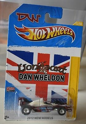 2012 Hot Wheels New Model Dan Wheldon Dw 1 Indy Real Riders Limited Release New