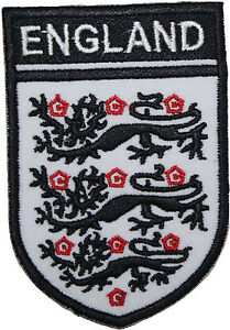 England Football Badge Embroidered Patch 3.5