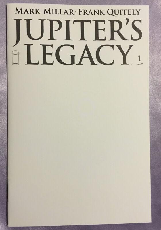 JUPITER'S LEGACY #1~BLANK SKETCH VARIANT~RARE OOP~NM