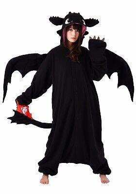 SAZAC Toothless the Dragon Kigurumi - Adult Costume from USA