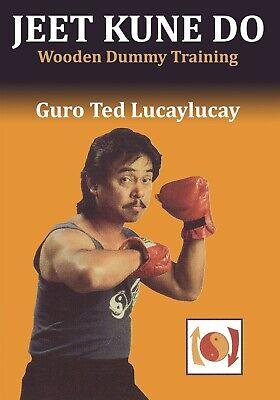 Jeet Kune Do: Wooden Wing Chun Dummy Training DVD Ted Lucaylucay mook jong