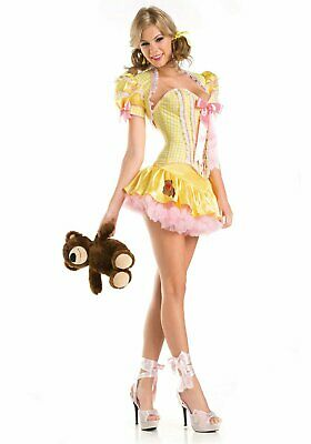 BeWicked 1426C Sexy Goldie Lace Up Costume](Bewicked Costumes)