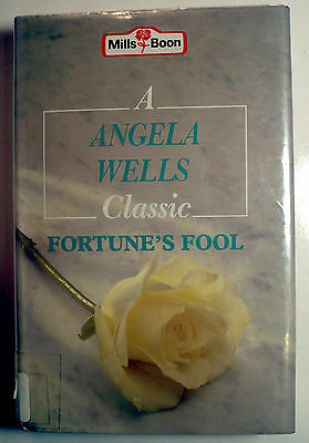 Fortunes Fool By Wells  Angela   1991   Hc Vg    Large Print