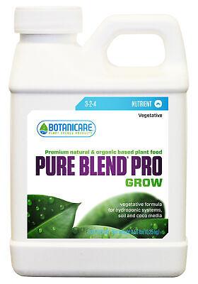 Botanicare Pure Blend Pro Grow 1 Quart pureblend pbp qt hydroponic