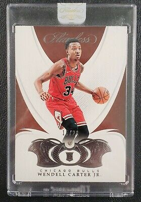 2018-19 Panini Flawless #94 Wendell Carter Jr Rookie RC