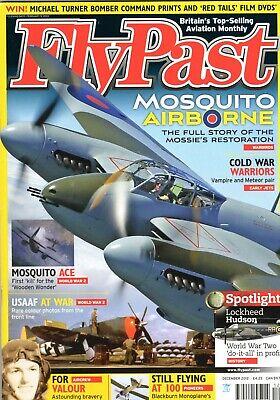 Flypast Magazine 2012 December Mosquito,Lockheed Hudson,Meteor,Vampire