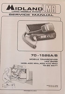 Midland 70-1526ab Mobile Transceiver Service Manual 70-152600