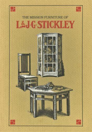 Antique Arts Crafts L & J.G. Stickley Furniture / Book - Catalogue Reprints