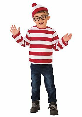 Where's Waldo Child Costume - Waldo Kids Costume