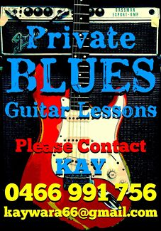 Private Blues Guitar Lessons