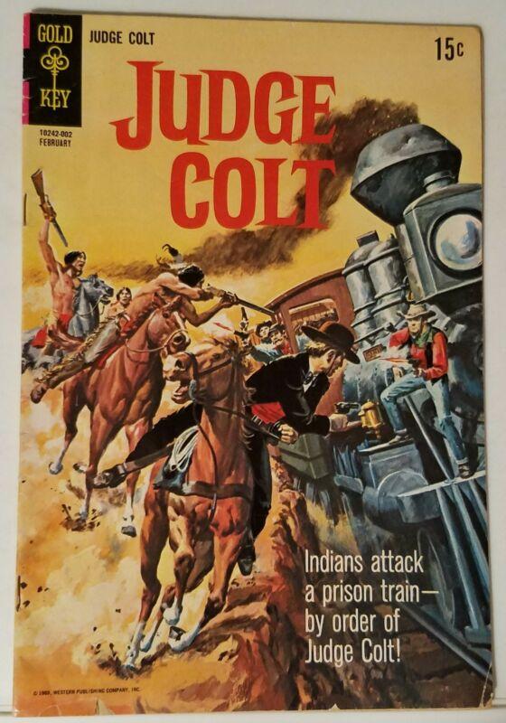 JUDGE COLT NO. 2 - GOLD KEY - FEBRUARY 1970