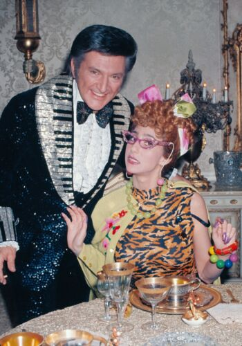CHER - PHOTO #C-14 - WITH LIBERACE