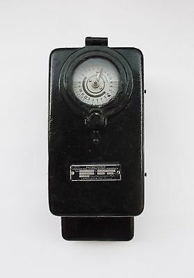 Vintage Landis Gyr Zug Single Phase Electrical Current Meter Counter