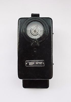Vintage Landis Gyr Zug Single Phase Electrical Current Meter Counter