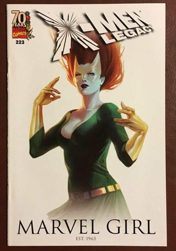 X-MEN LEGACY #223~MARVEL GIRL~70TH ANNIVERSARY VARIANT~MARVEL COMICS BOOK~