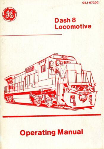 RR Dash-8 Locomotives Operating Manual