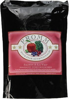 Fromm Four-Star Salmon A La Veg Grain Free Dry Dog Food, 5-Pound Bag - FREE SHIP