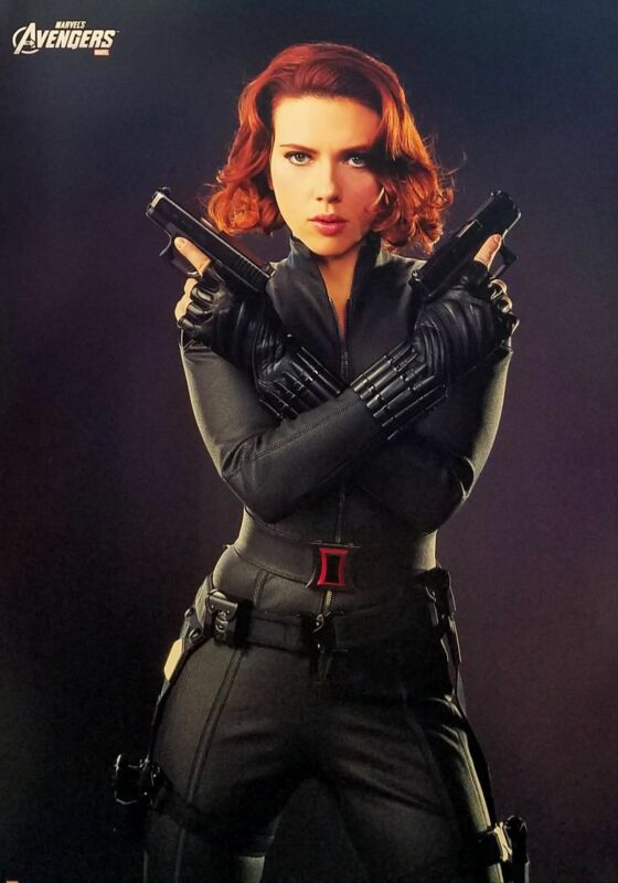 Black Widow Scarlett Johansson 12x16 FRAMED Print, New MCU Marvel cardstock