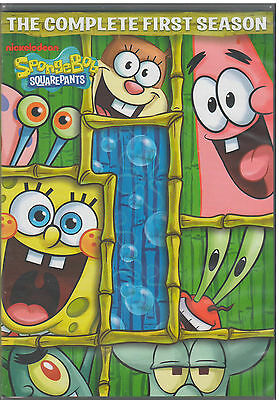 Spongebob Squarepants Season 1  Dvd  2012  3 Disc Set  New
