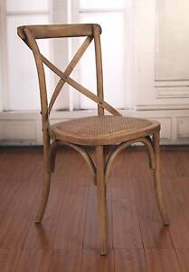 Dining Chair Cross Back Birch or USA Oak French Provincial NEW Ferntree Gully Knox Area Preview