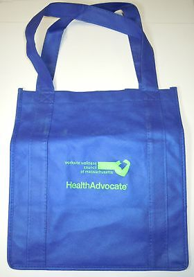 Health Advocate Small Tote Bag - Blue Bag Health Tote Bag