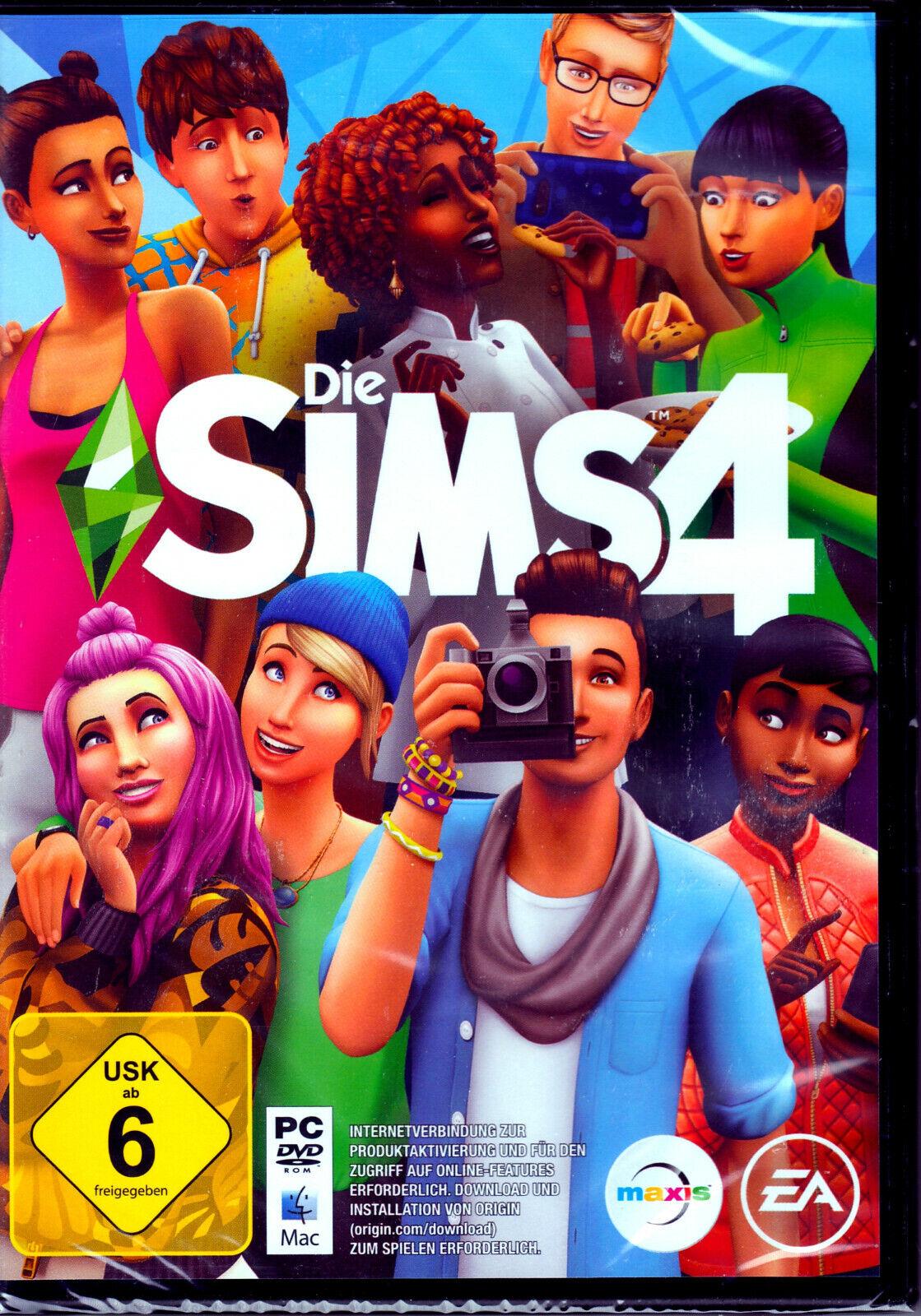 Die Sims 4 PC DVD ROM Mac Spiel Hauptspiel