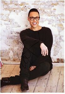 GOK-WAN-Signed-12x8-Photograph-TV-PRESENTER