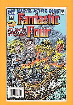 Marvel Action Hour, Featuring the Fantastic Four #4 (Feb 1995, Marvel) Original