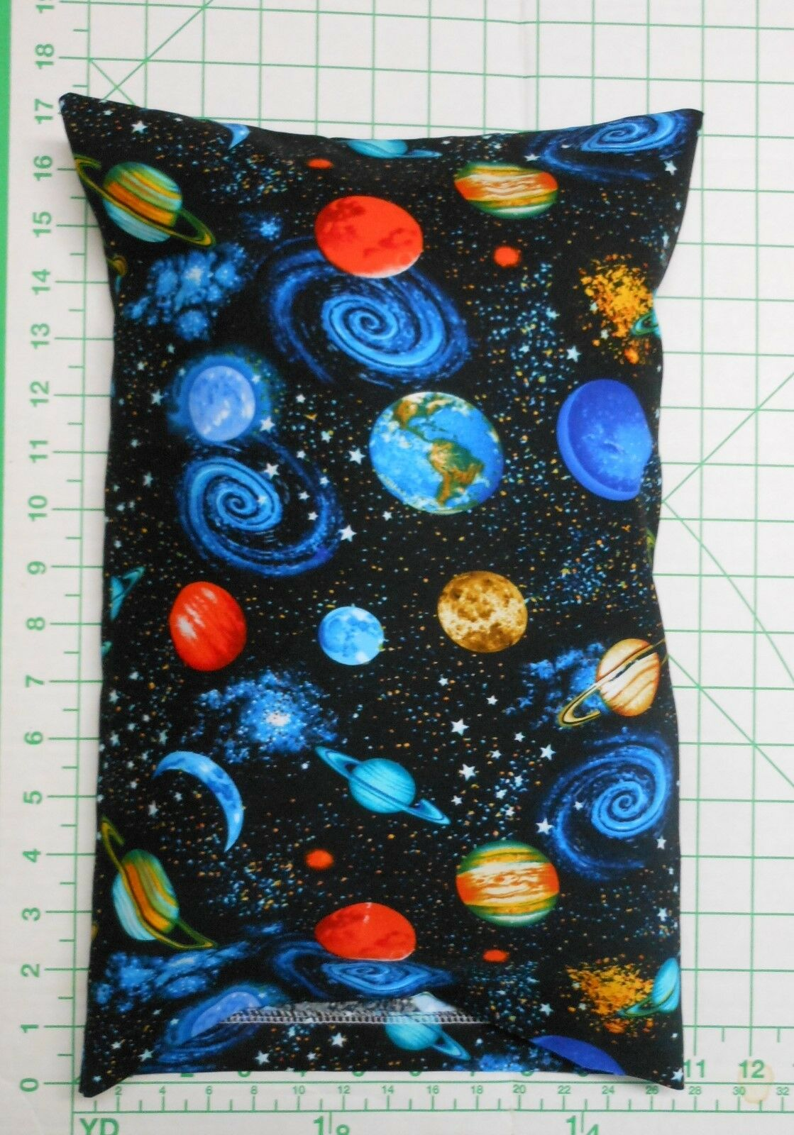 PLANETS and Space -  Small Pillow Case with Travel / Toddler