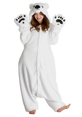 SAZAC Polar Bear Kigurumi - Adult Costume from (Adult Polar Bear Kostüm)