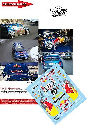 DECALS 1//43 REF 0311 Skoda Octavia WRC Schwarz Climent Rallye Monte Carlo 2000