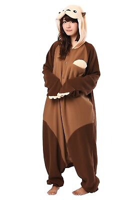 SAZAC Sea Otter Kigurumi - M+ & XL Halloween Costume from USA - Halloween Otter