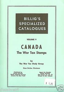 CANADA-The-War-Tax-Stamps-by-Hans-Reiche-The-War-Tax-Study-Group-UNUSED