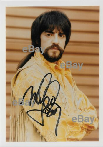 Mark Lindsay (formerly Paul Revere Raiders) AUTOGRAPHED 5x7 Pic 1970 Arizona