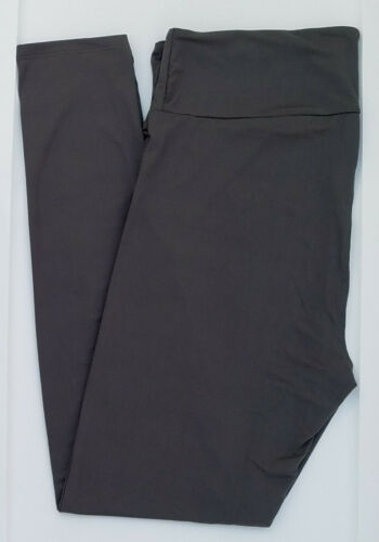 TC LuLaRoe Tall & Curvy Leggings Beautiful Solid Gray Rare ! NWT 11