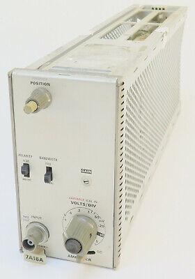 Tektronix 7a16a Oscilloscope Amplifier Plug-in