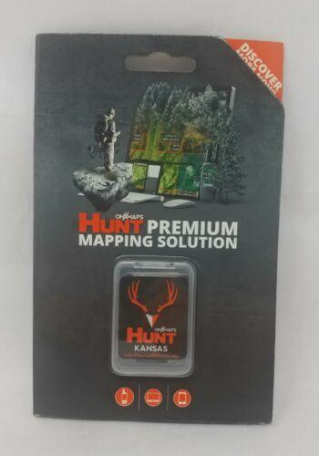 onXmaps HUNT GPS Chip for Garmin Units +1-Year Premium Membership, Kansas 208989
