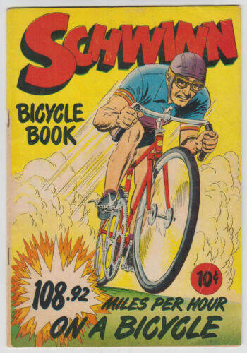 M0544: Schwinn Bicycle Book Fine Condition