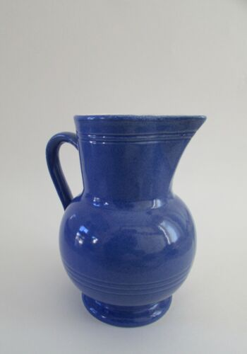 Emile Henry France Blue Pitcher