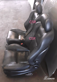 Holden Commodore SS VY Ute Black leather front seats