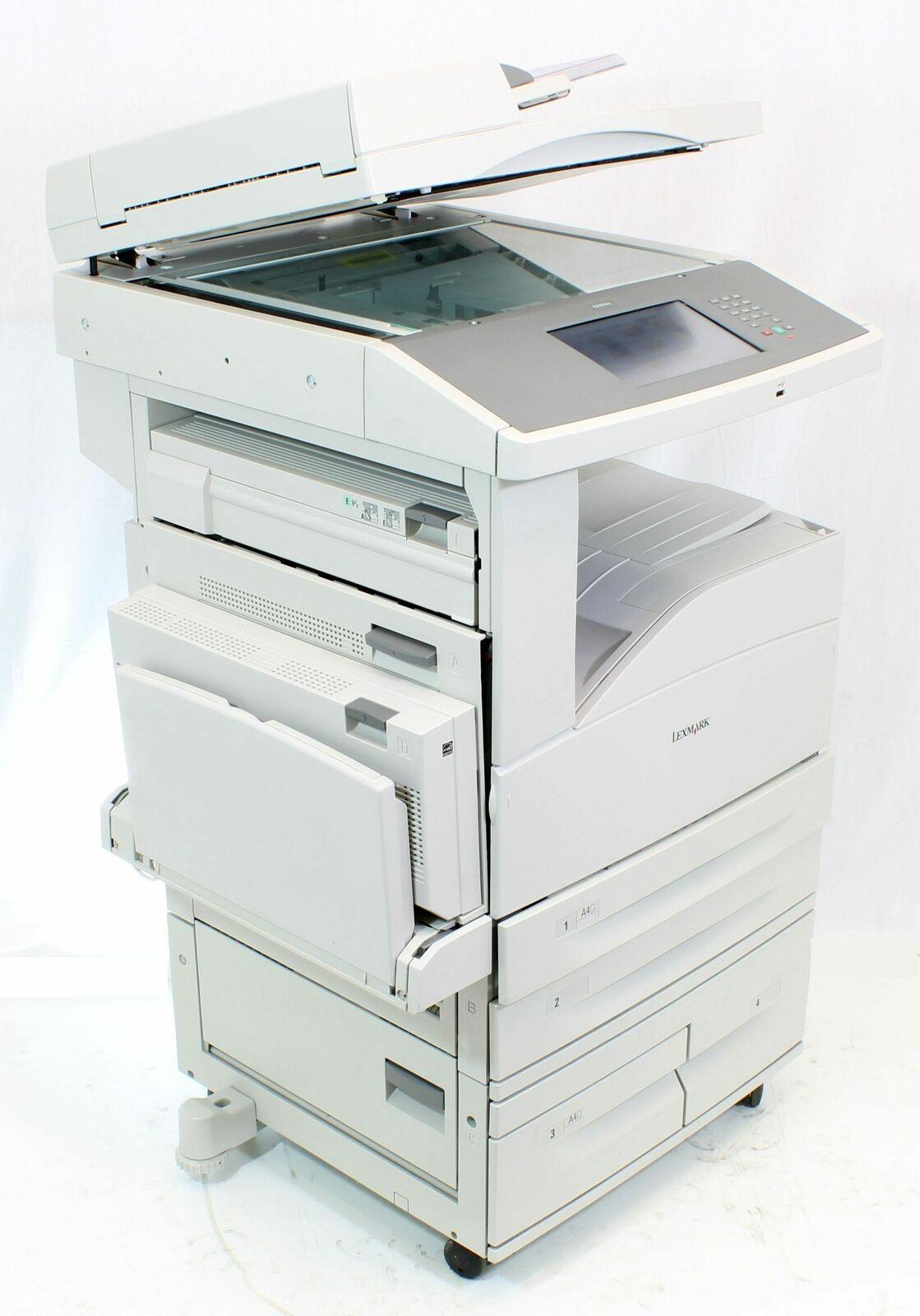 Lexmark Drucker X860de Laserdrucker DIN A3 Kopierer Scanner Fax gebraucht