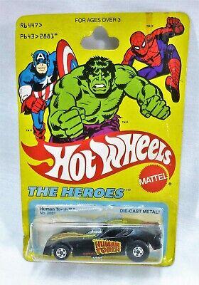 Hot Wheels Human Torch Firebird Funny Car Marvel Comics The Heroes MOC Blackwall