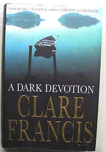 CLARE-FRANCIS-recalled-true-1st-ed-with-misprints-1997-A-DARK-DEVOTION-HB-DJ