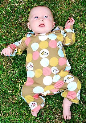 Grow Babygrow - Sewing Pattern by Two Stitches - Birth to 24