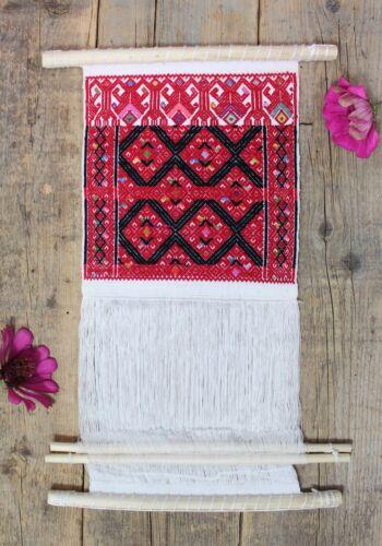 #2 Sample Backstrap Loom for Education or Decor Mayan Larrainzar Chiapas Mexico