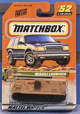 Matchbox, Military, Missile Launcher, 52 of 100, 96345 - 1999 -NOS