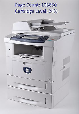 Xerox Phaser 3635MFPS All-In-One Workgroup Laser Printer w/ 2nd Tray, Page 105K