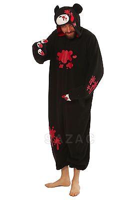 SAZAC Gloomy Bear Black Kigurumi - Adult Costume from - Gloomy Bear Halloween Costume